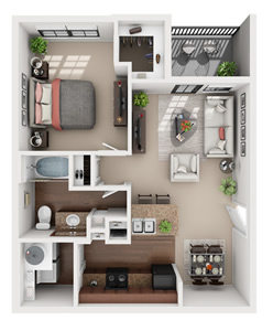 A1 - One Bedroom / One Bath*